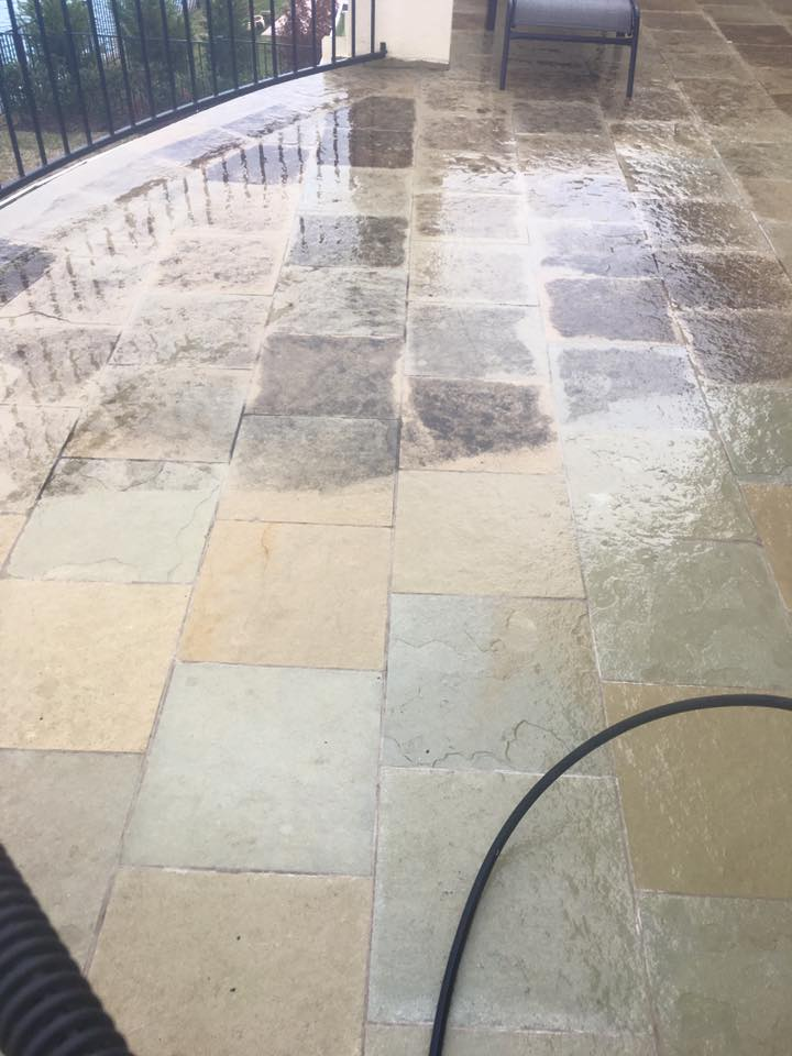 How Do You Clean a Concrete Pool Deck?