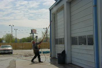 The Commercial Power Washing Process