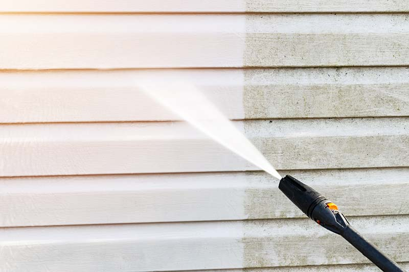 What's the Most Effective Way to Clean Siding?